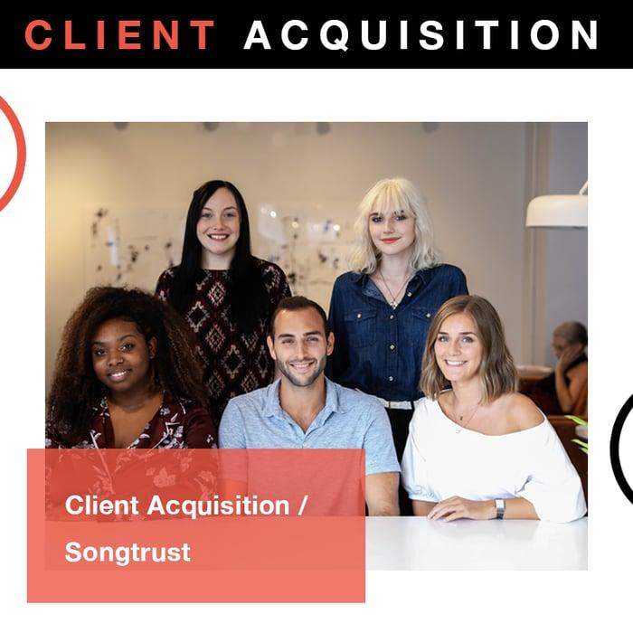 Songtrust's Client Acquisition Team