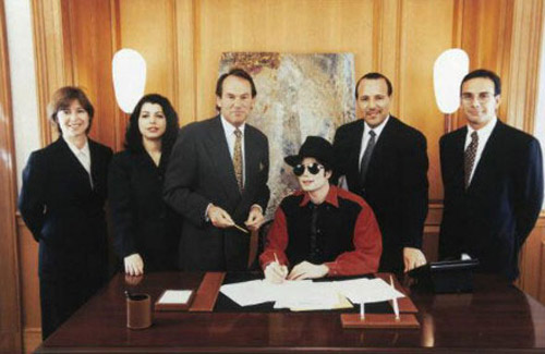 Jackson founded Sony / ATV