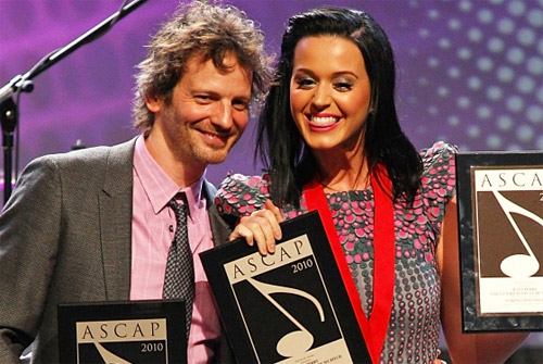 Dr Luke and Katy Perry
