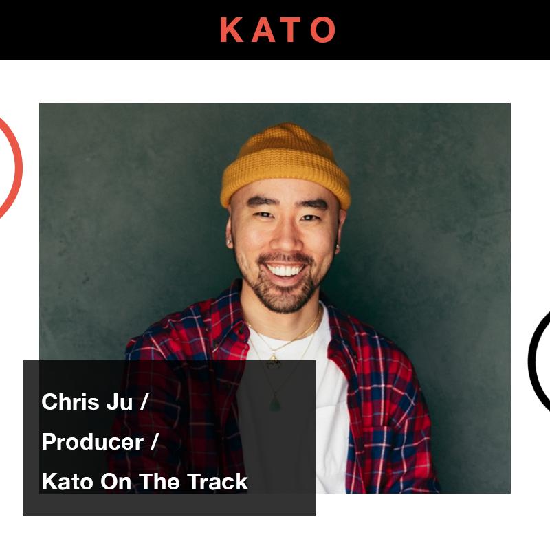 "Atlanta-based producer Chris"" Kato On The Track"" Ju"