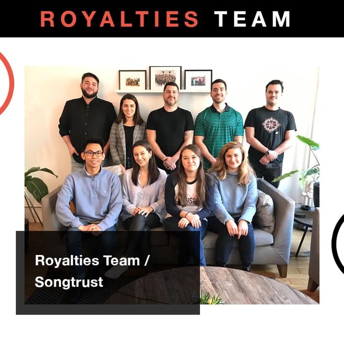 Songtrust: Royalties Team